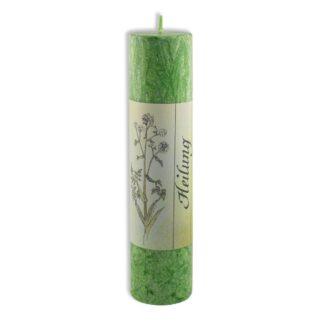 Kerze Stearin grün